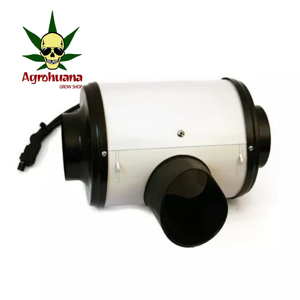 Extractor Aire Doble Turbina 4 Pulgadas