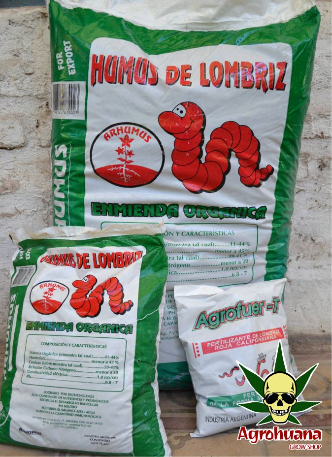 Humus De Lombriz 25 Dm