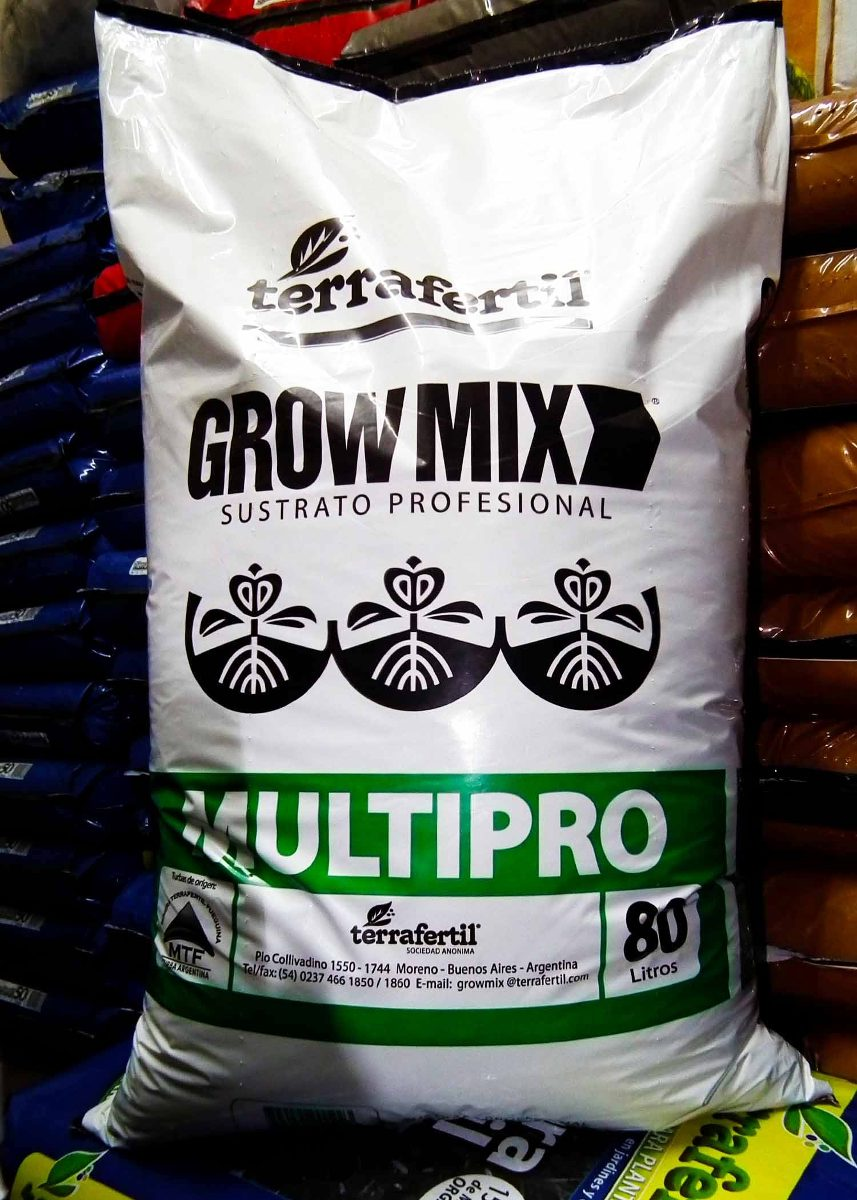 Grow Mix Multipro 80 Lts (solo envíos zona sur)