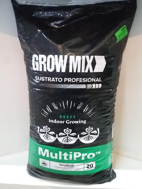Grow Mix Multipro Indoor 20 Lts