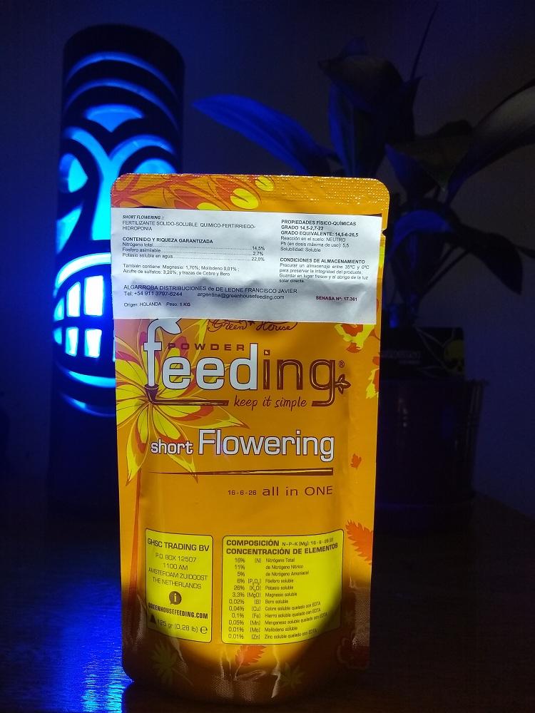 Powder Feeding Short Flowering 125Grs